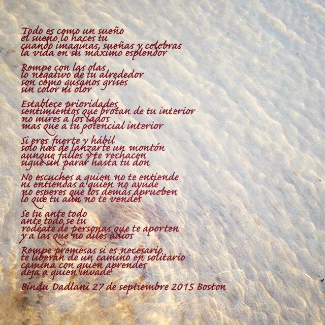 Poema todo es como un sueño