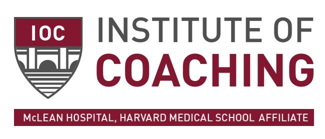 Institute of Coaching, McLean Hospital, Harvard Medical School Affiliate