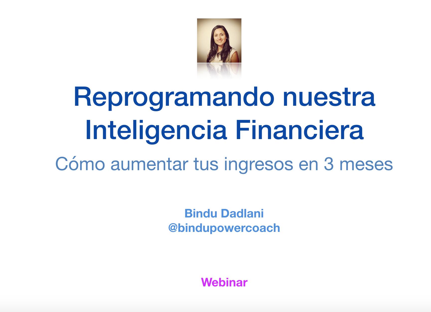 Re-programando nuestra inteligencia financiera